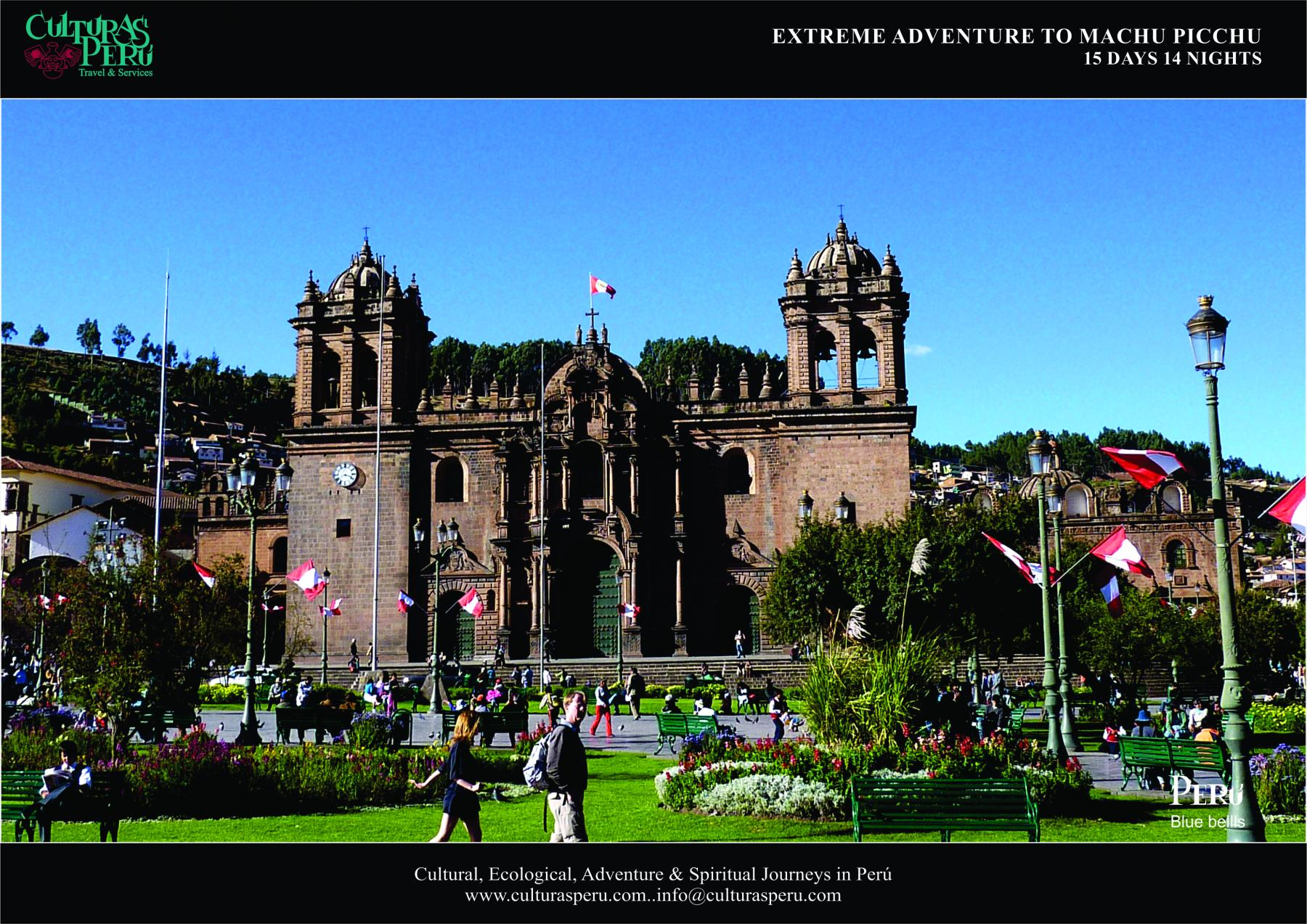 Day 1: Arrival to Cusco (walking tour)